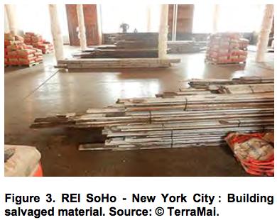 REI SoHo - New York City Building salvaged material