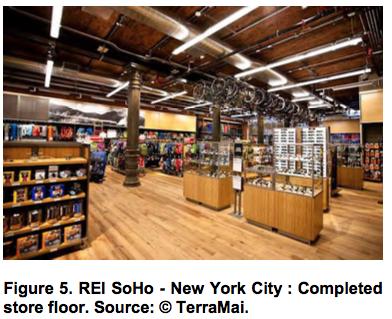 REI SoHo - New York City Completed store floor
