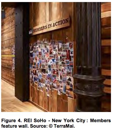 REI SoHo - New York City Members feature wall