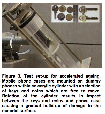 Test set-up for accelerated ageing