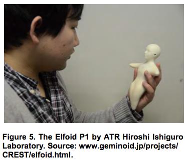 The Elfoid P1 by ATR Hiroshi Ishiguro Laboratory
