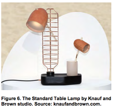 The Standard Table Lamp by Knauf and Brown studio